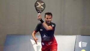 Benjamin Tison serwis leworęczny WPT Lugo Open 2021