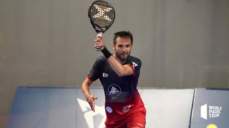 Benjamin Tison service gaucher WPT Lugo Open 2021