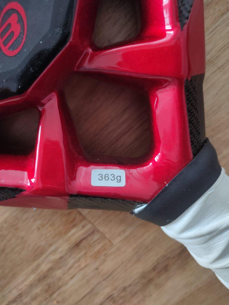 Bullpadel MM1 363 grams
