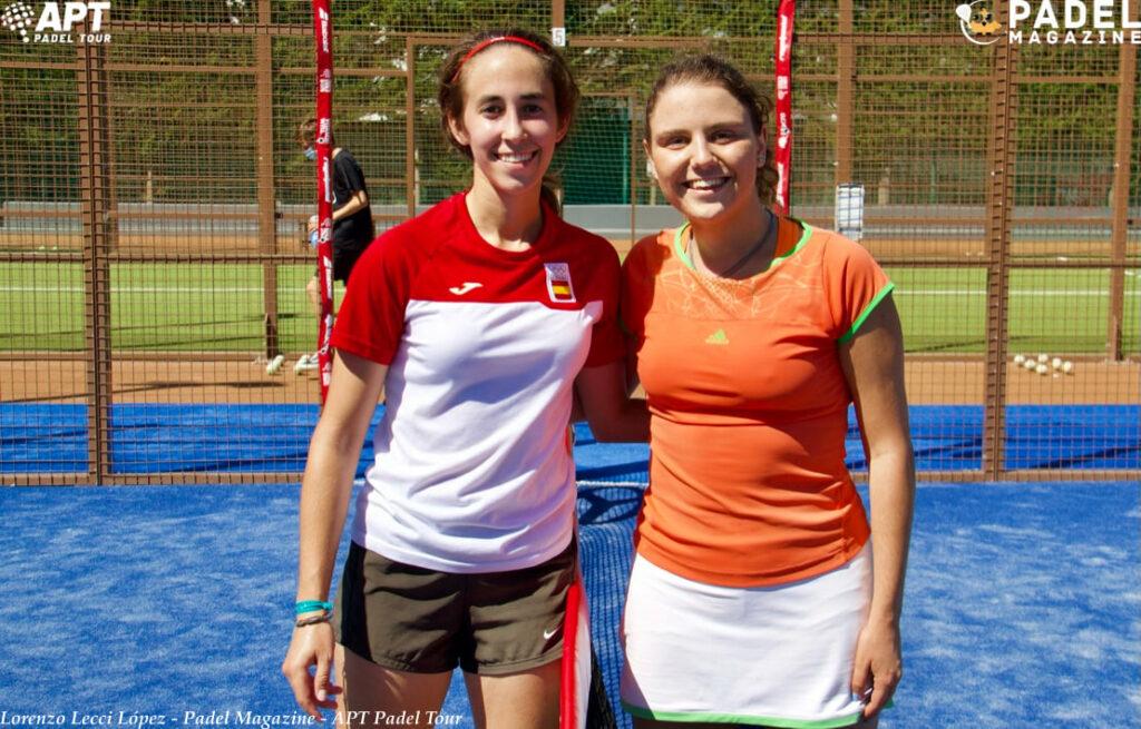 Carlotta Garcia (Esp) et Joana Brites (Por)
