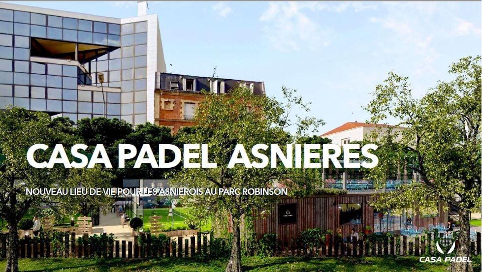 casa Padel Asnières: un nuovo centro di padel !