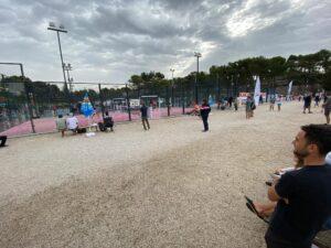 Cielo grigio Campionato di Francia 2021 winwinpadel Semifinale Cabriés