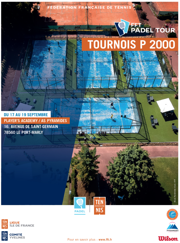 FFT PADEL PARIS PYRAMIDES PLAYER'S TOUR 2021