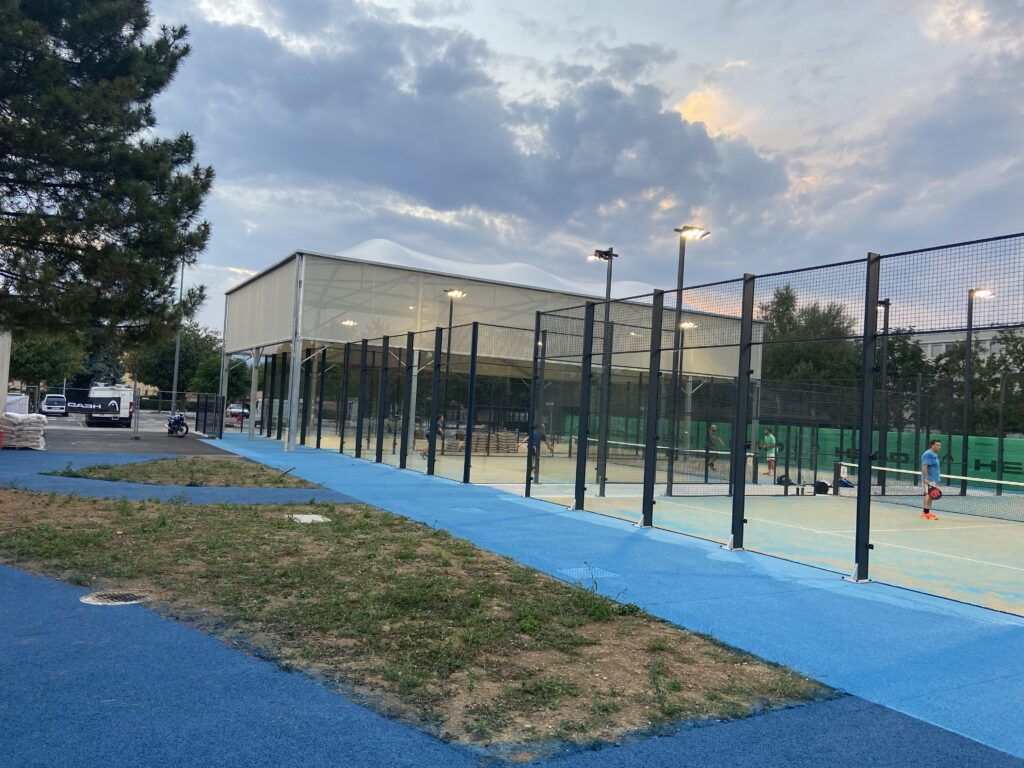 terre di padel tennis padel padel LOGO Tennis e Padel Bourg-Lès-Valence padel club house