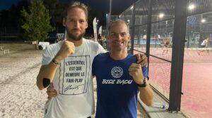 Teri Groll ja Christophe Henry Ranskan mestaruuskilpailuissa 2021