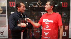 ITV-Casa padel Iñaki Cabrera und PM