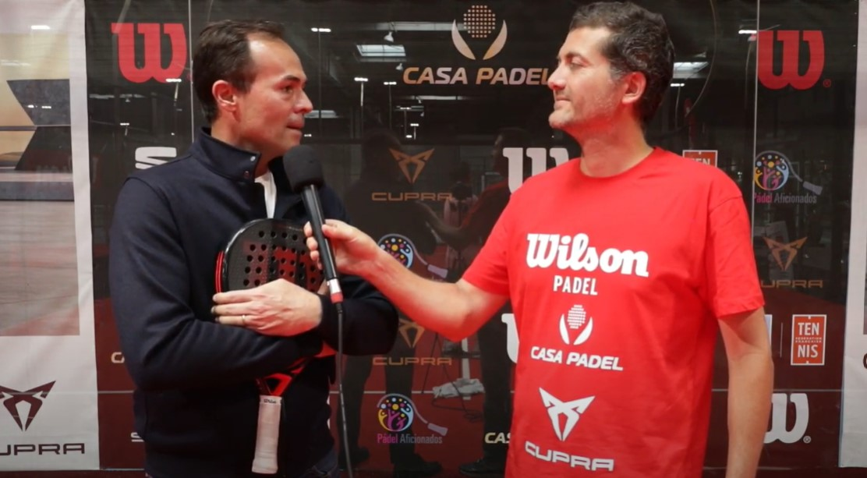 ITV casa padel Iñaki Cabrera et PM