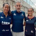 Léa Godallier Ariadna Tolo Cañellas coach 2021 Lugo Open WPT victoire