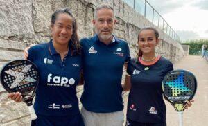 Trener Léa Godallier Ariadna Tolo Cañellas 2021 zwycięstwo Lugo Open WPT