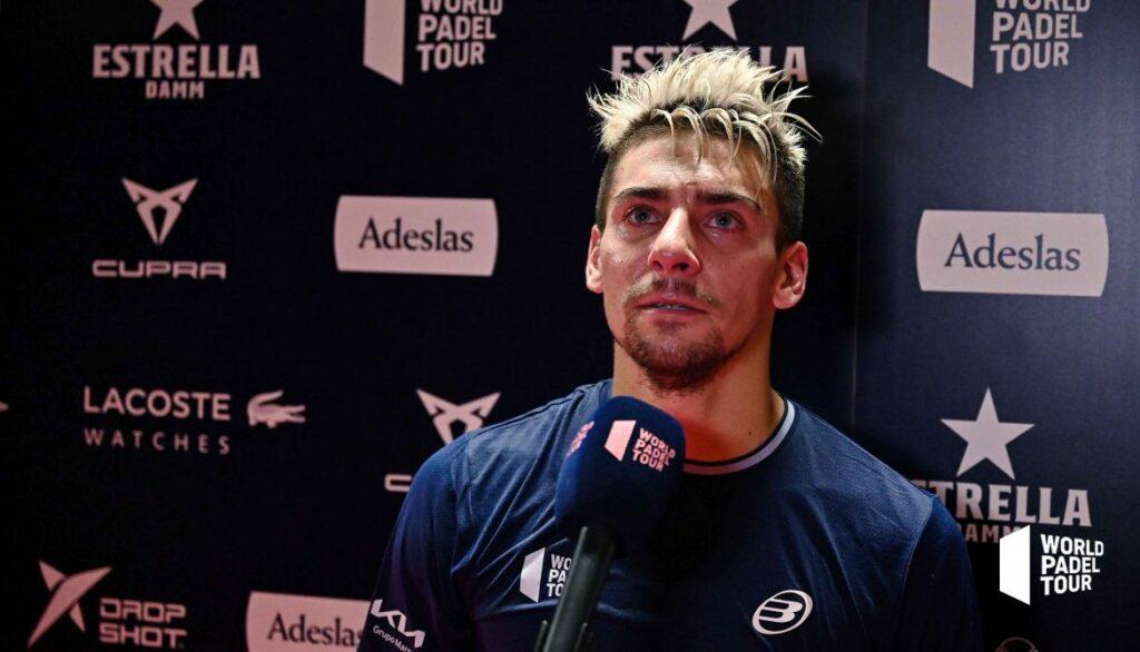 Martin Di Nenno 哭泣的胜利 WPT 巴塞罗那大师赛 2021