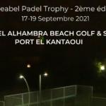 tunisie tournoi padel hôtel