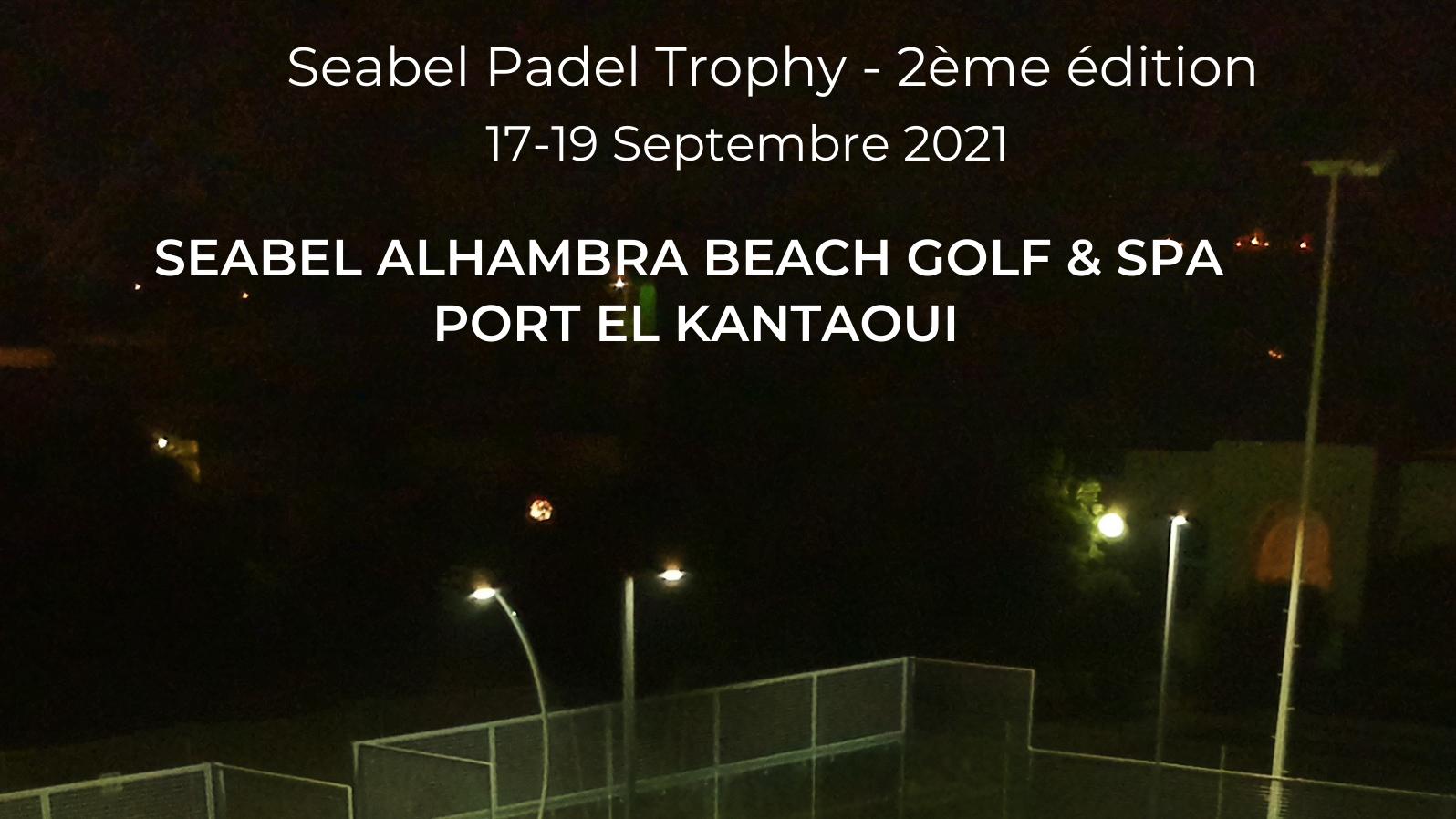 Seabel Padel Trofeo: 2° edizione dal 17 al 19 settembre