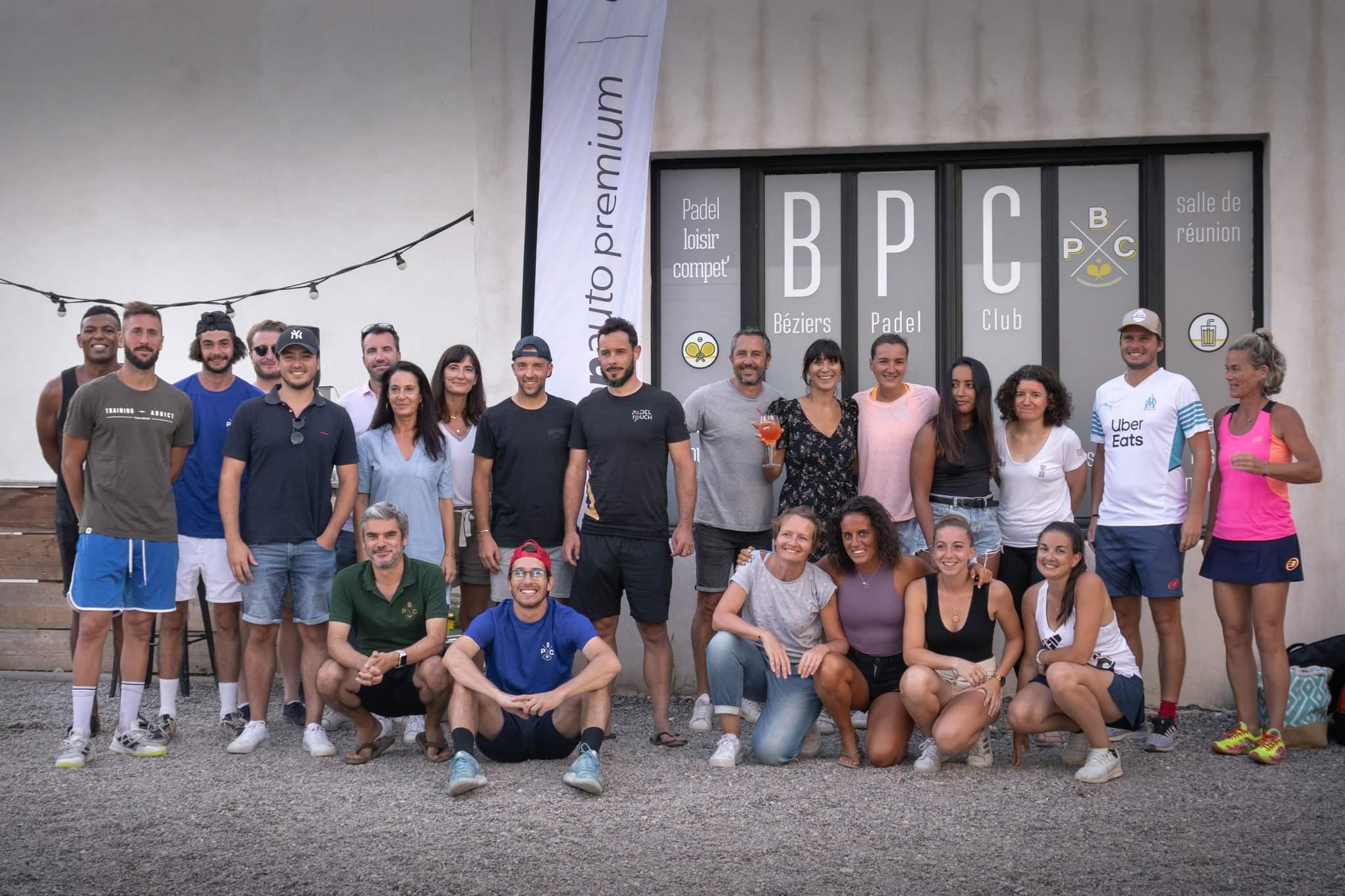 Béziers Padel Club: os resultados do P1000 H e do P500 F!