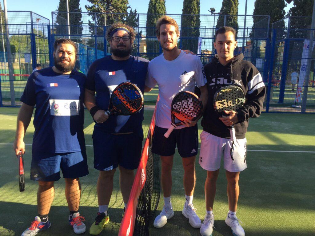 Thomas Mersié - Kevin Cortes - patricio de guzman - Dani de Castro APT Open Sevilla 21
