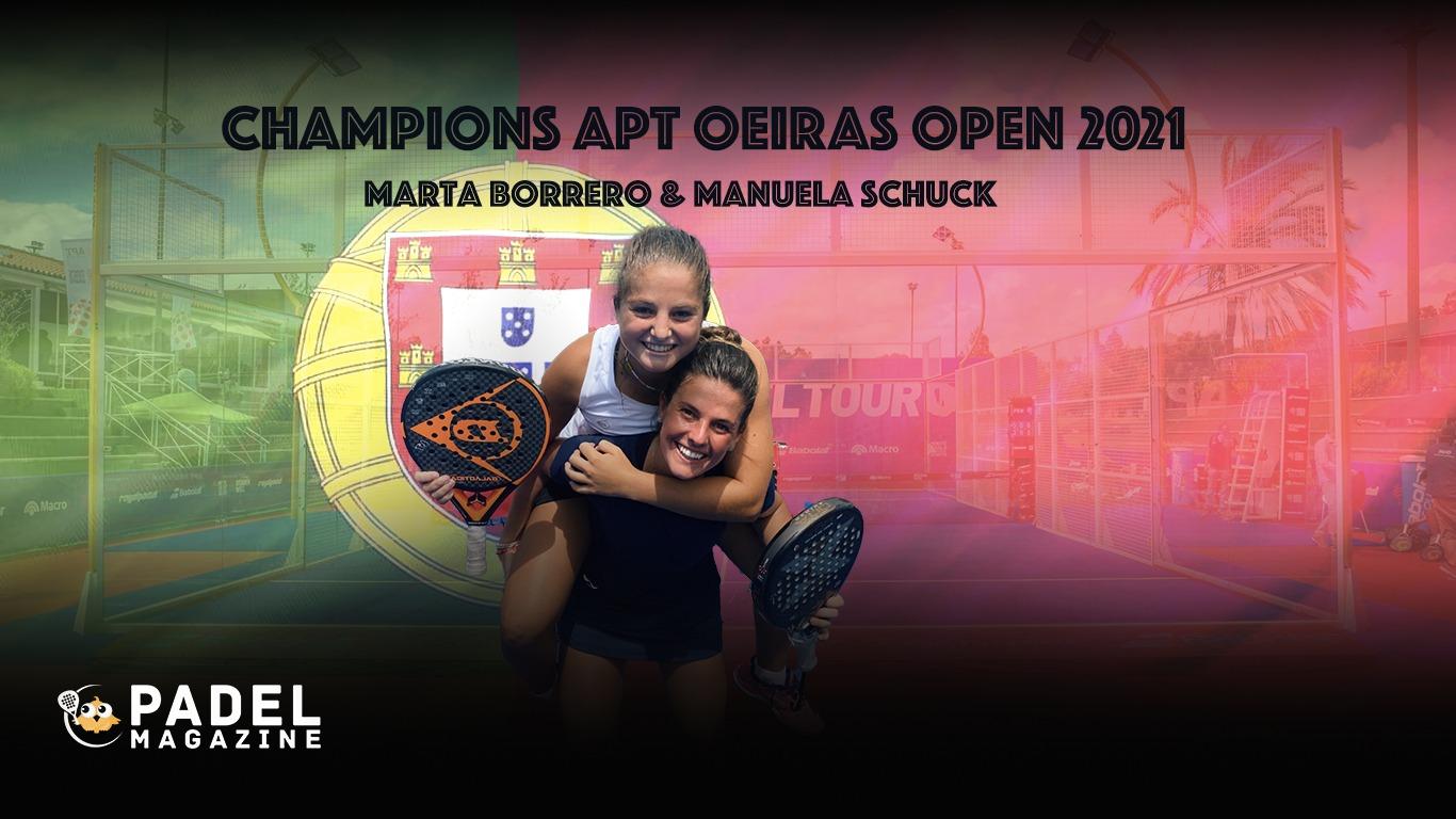 APT Oeiras Open: les noves reines