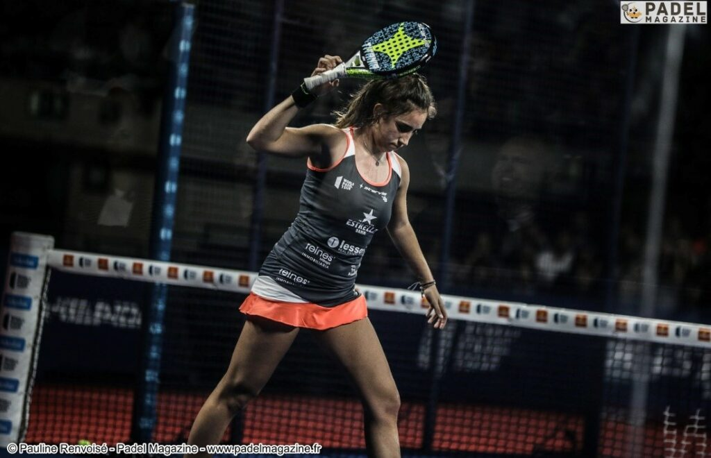 throw racket padel