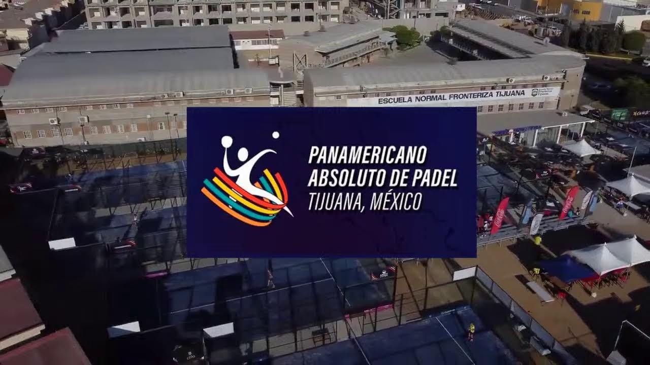 Jeux Panaméricains Padel 2021 Tijuana Mexique