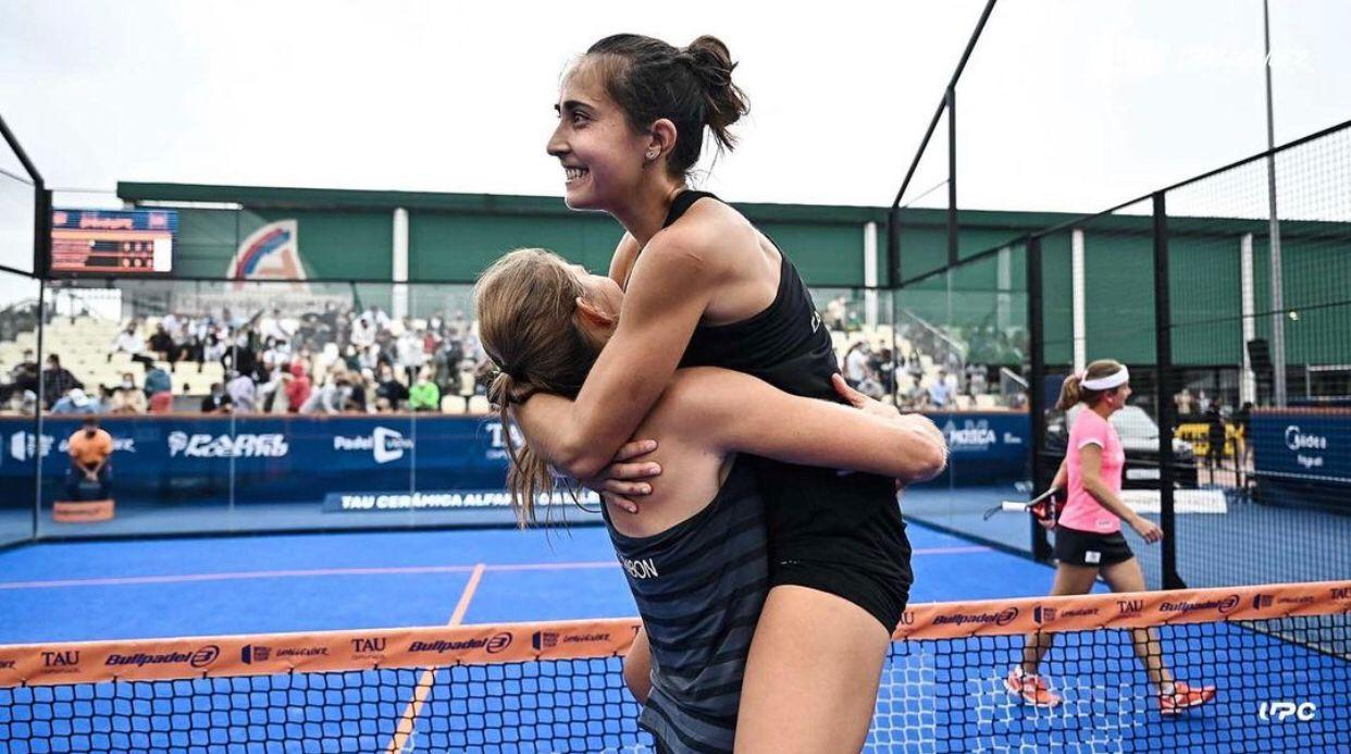 Alix collombon Jessica Castello en quarts Open Cordoba 21