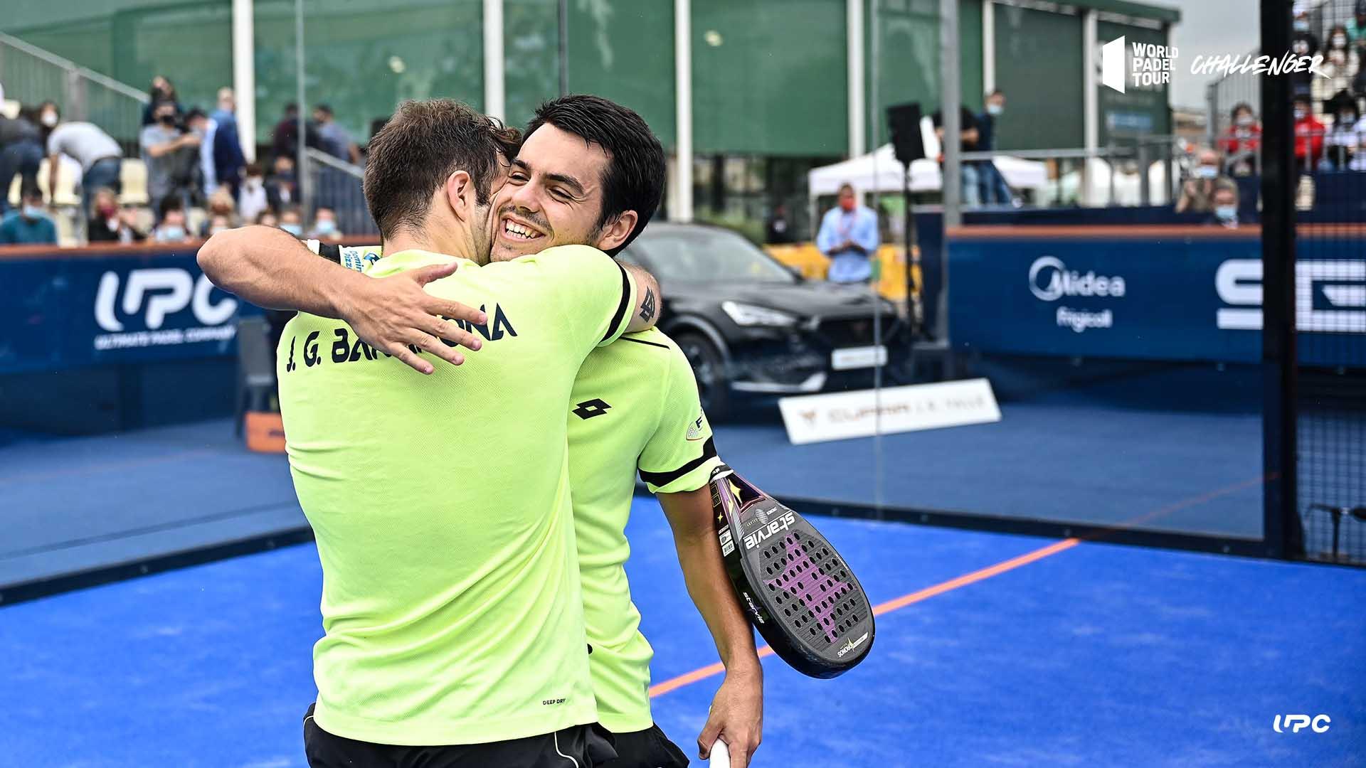 Barahona och Nieto vinner Alfafar Challenger