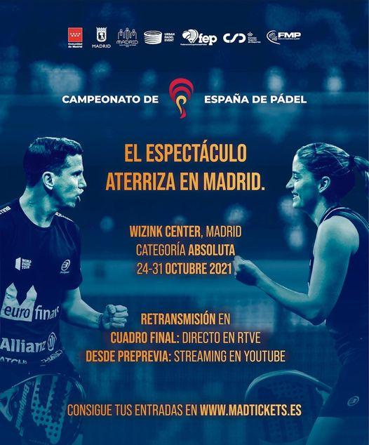 Spansk mesterskab 2021 Plakat