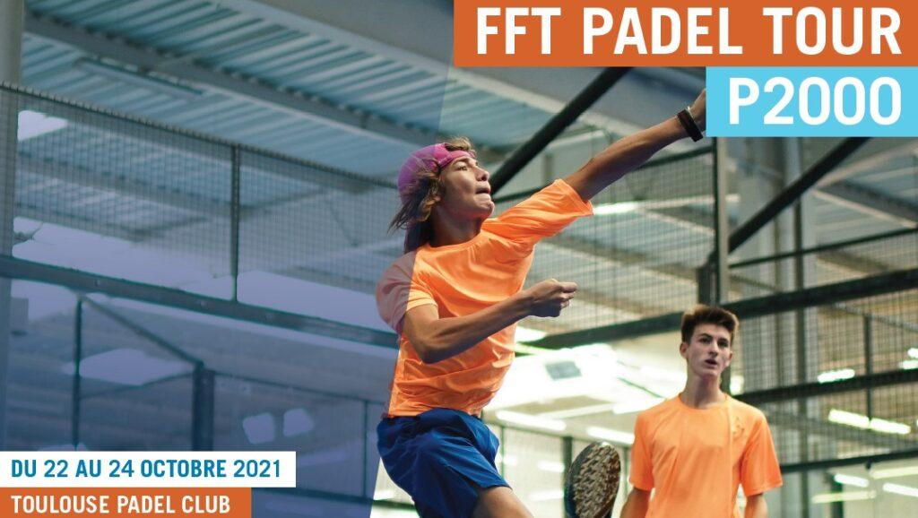 FFT Padel Tour P2000 Poster Tolosa 2021