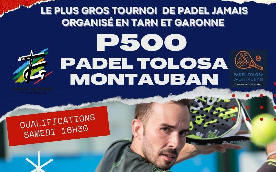 Het grootste toernooi in Tarn-et-Garonne in Padel Toulouse