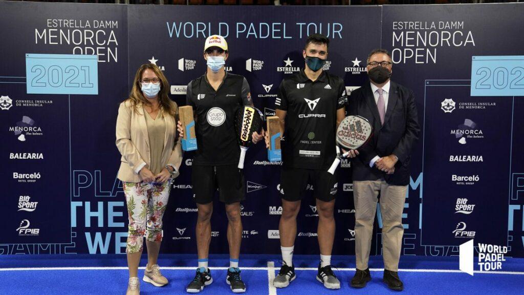 Ganadores de Lebrón y Galán WPT Menorca Open 2021