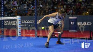 Paula Josemaria coup entre les jambes WPT Cordoba Open