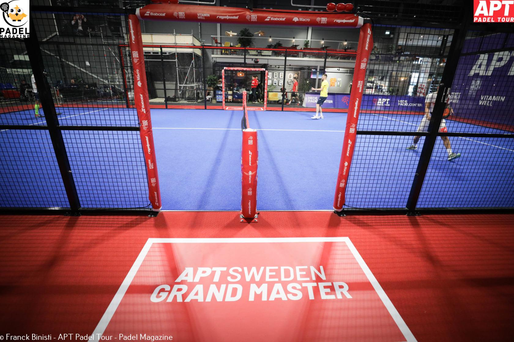 Wo kann man die 8. live von der APT . sehen? Padel Tour - Schweden-Großmeister?