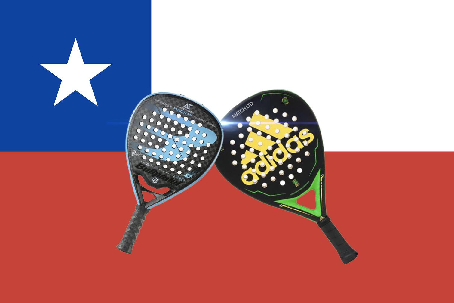 Chile y palas