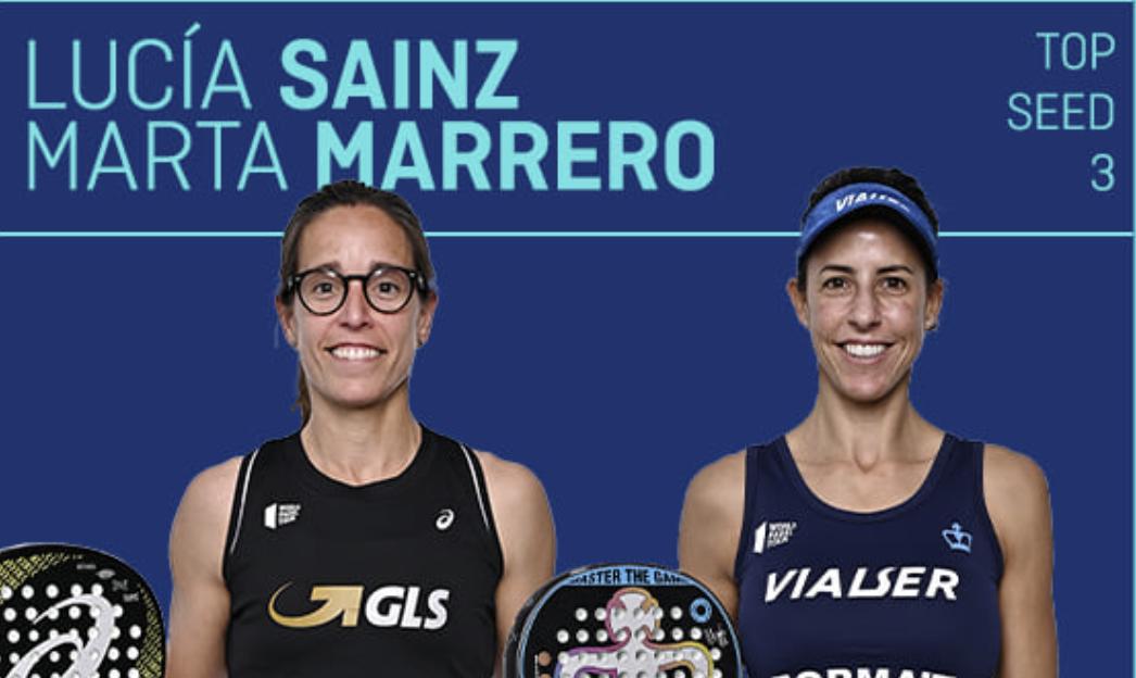 Lucia Sainz i Marta Marrero: primera final