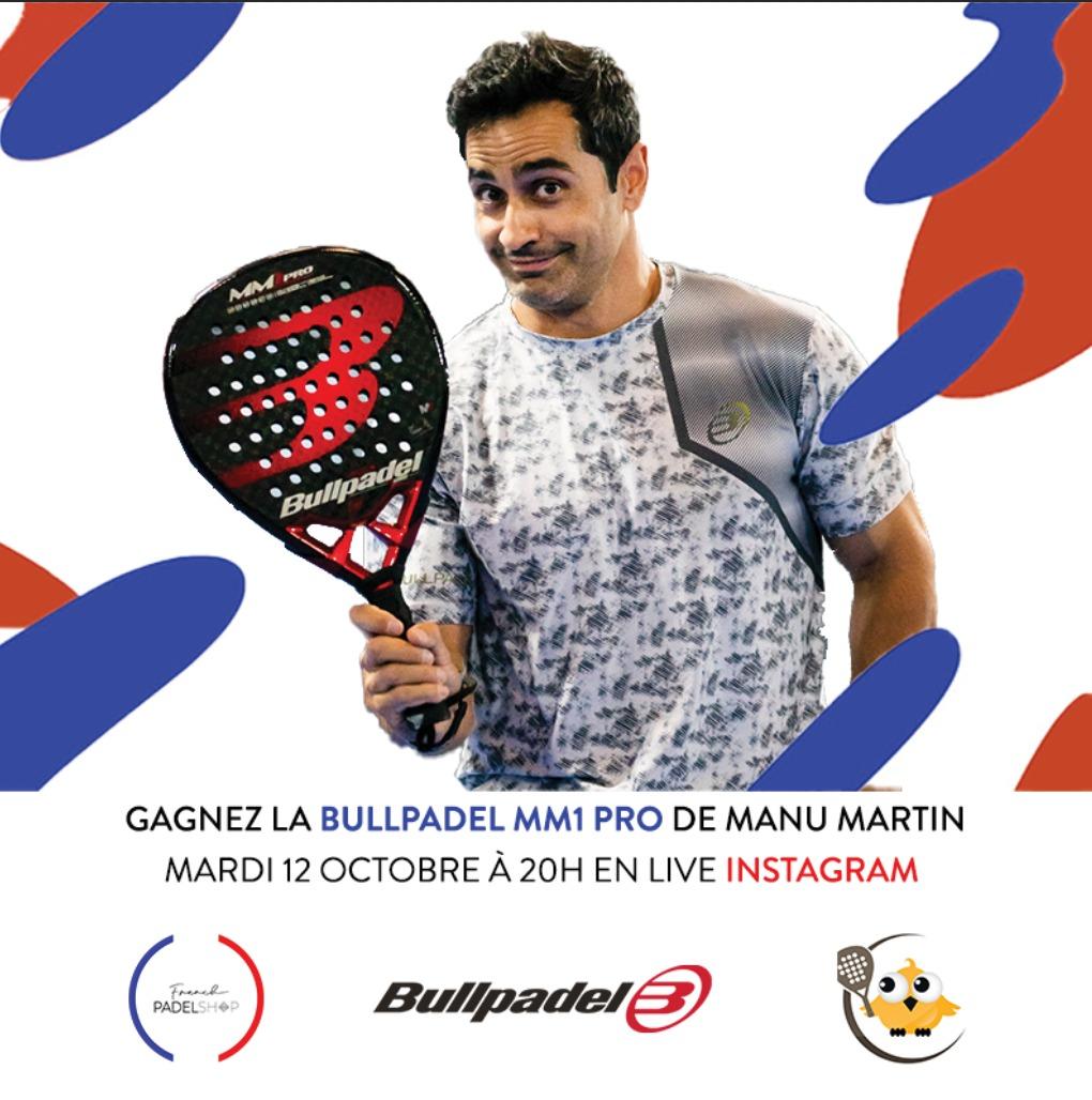 WIN DE BULLPADEL MM1 PRO DOOR MANU MARTIN!