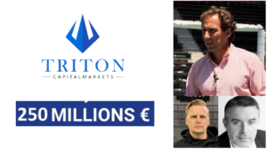 triton 250 millions d'euros padel