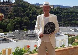CLAUDE BAIGTS racket padel ancient sun