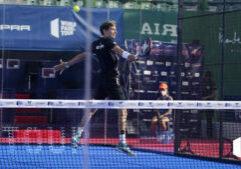 Franco Stupaczuk volée de revers WPT Marbella Master 2021