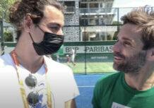Entrevista a Arnaud clément Roland Garros padel 2021