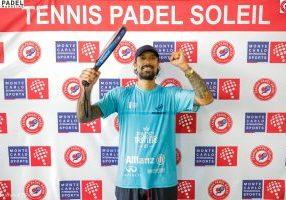 Kevin Farhang tennis padel soleil victoire joie padel beausoleil