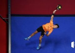 Smash Juan Tello Welt Padel Tour