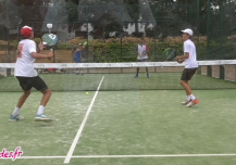 P100 padel tournament hossegor reportage tv landes