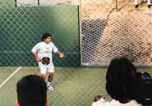 Diego Maradona padel 1996 copa del mundo