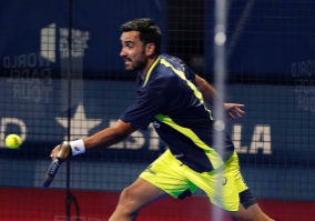 left-handed pablo lima world padel tour bilbao covid
